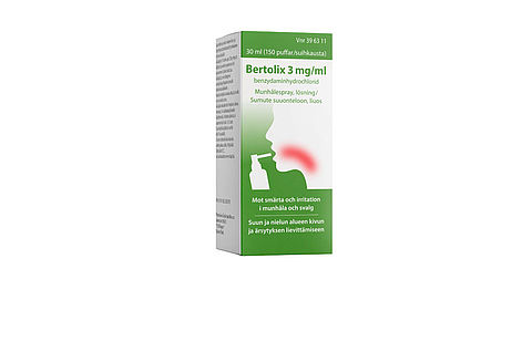 Bertolix 3mg/ml
